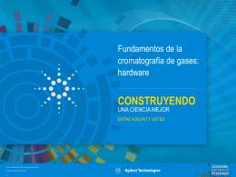 Fundamentos de la cromatografía de gases: hardware