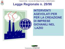 Legge Regionale n. 23 del 03/07/1986