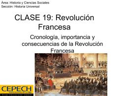 CLASE 19: Revolución Francesa