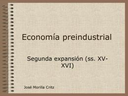 Economía preindustrial