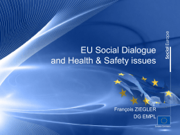 EU social dialogue mechanisms