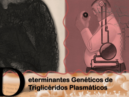Determinantes genéticos de triglicéridos