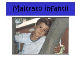 Maltrato infantil - ÁREA INFANCIA Y JUVENTUD |