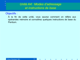 Structure interne des ordinateurs