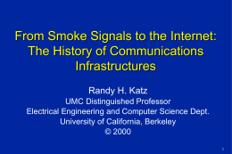 From Smoke Signals to the Internet: The History of