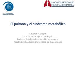 El pulmón en las enfermedades sistémicas: el