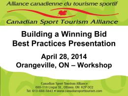 Sport Tourism 101