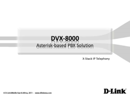 Asterisk®-based PBX Solutions