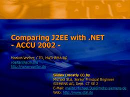 Java oder .NET