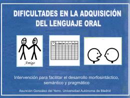 Diapositiva 1 - Universidad Autónoma de Madrid