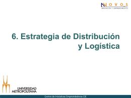 6. Estrategia de Distribución y Logística