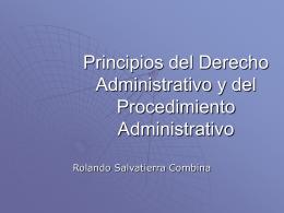 Características principios y Estructura del