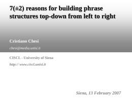 Nessun titolo diapositiva