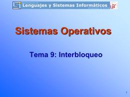 Tema 9 - Teoría SSOO