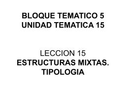 LECCIÓN 57: ESTRUCTURAS MIXTAS UNIONES