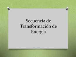 Secuencia de Transformación de Energía