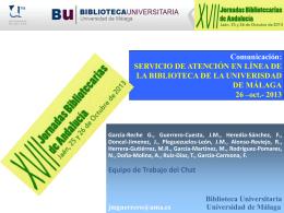 Diapositiva 1 - AAB: Asociación Andaluza de