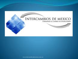 Diapositiva 1 - Intercambios de México