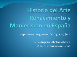 Historia del Arte Renacimiento y Manierismo en