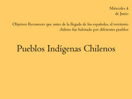 Pueblos Indígenas Chilenos