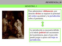 PENITENCIA, 20