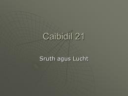 Caibidil 21