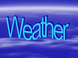 Weather - PowerPoint Presentations Free to
