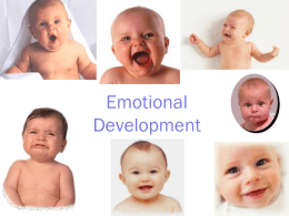 Emotional Development - Mercer County Community