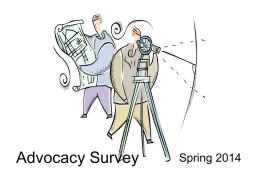 Advocacy Survey