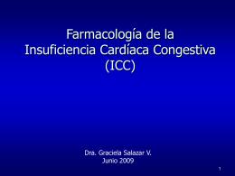 Farmacología de la Insuficiencia Cardíaca