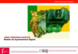 Diapositiva 1 - Diputación de Jaén