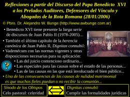 Asociación Peruana de Canonistas ::..