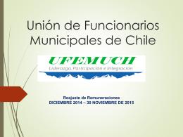 ASOCIACIÓN DE FUNCIONARIOS ILUSTRE MUNICIPALIDAD