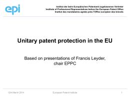 Tangena_unitary patent