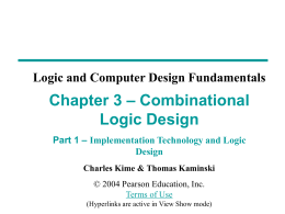 Chapter 2 - Part 1 - PPT - Mano & Kime