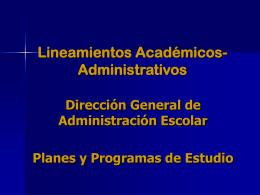Seminario sobre la adecuación de los programas de