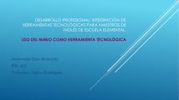 Desarrollo Profesional: Integración de