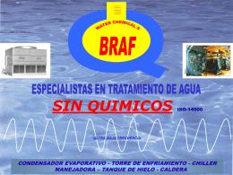 Diapositiva 1 - Grupo BRAF//braf.com.mx
