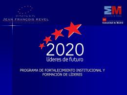 2020 Líderes de futuro