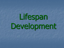 Lifespan Development - Adair County Schools