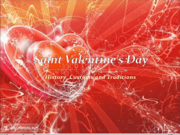Saint Valentine`s Day