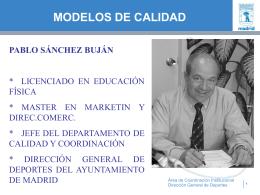 MODELOS DE CALIDAD - Un sitio web para la edición