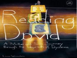 Reading David By: Lissa Weinstein, Ph.D.