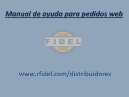 Diapositiva 1 - Neumáticos RFidel