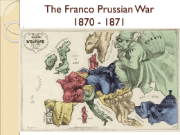 The Franco Prussian War 1870
