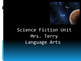 Science Fiction Unit