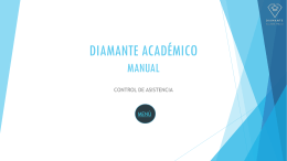 Diamante académico manual