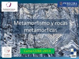 Metamorfismo y rocas metamórficas