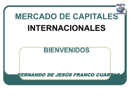 ESPECIALIZACIÓN EN FINANZAS