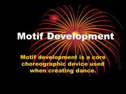 Motif Development - The Dean Academy